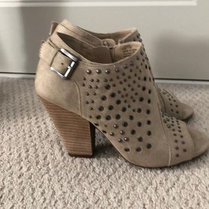 Cute studded booties.